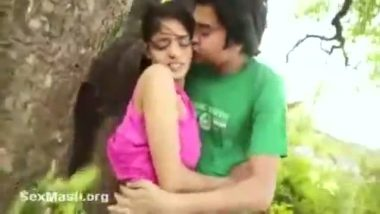 Bollywood hot scene outdoor smooch