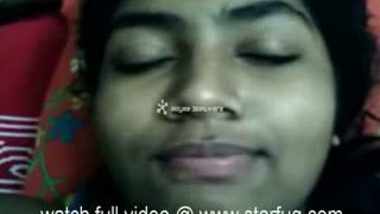 Mallu School Girl On Bed
