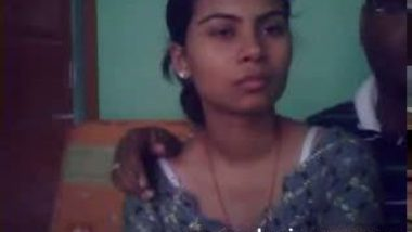 Innocent Gangtok desi girl boob press mms scandal