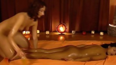 Lesbian Massage Between Black And White Skins