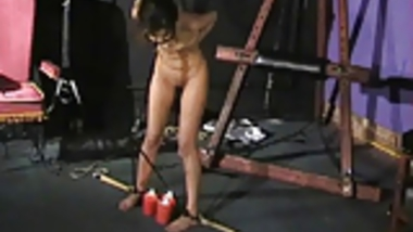 Sahara Knite nude whipping in indian bdsm of famous GOT babe