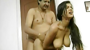 indian teen takes a shower and gets fucked by her stepdad