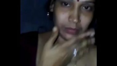 Pressing Boobs Of South Indian Aunty